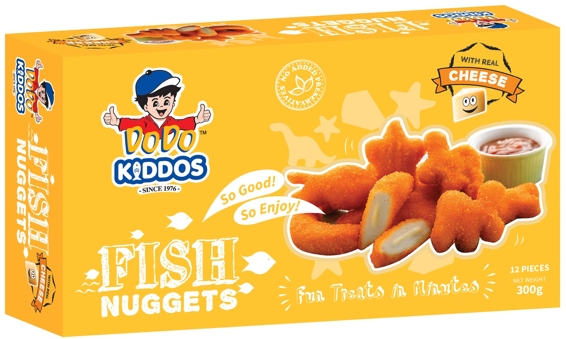 Kiddos Fish Nuggets (Cheese)