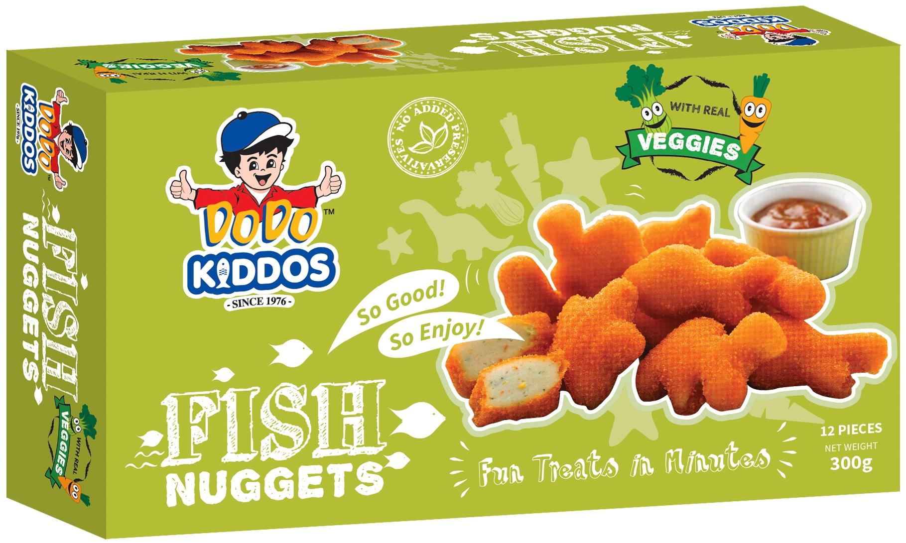 Kiddos Fish Nuggets (Veggies)