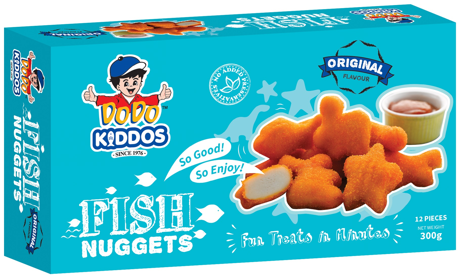 Kiddos Fish Nuggets (Original)
