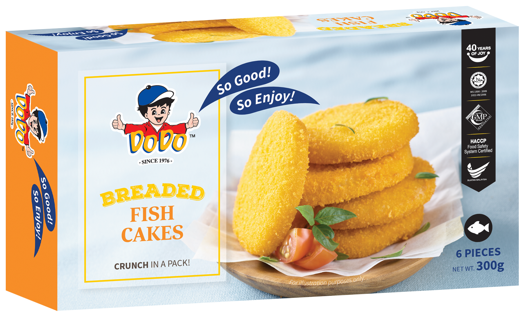 Breaded Fish Cakes 300gm