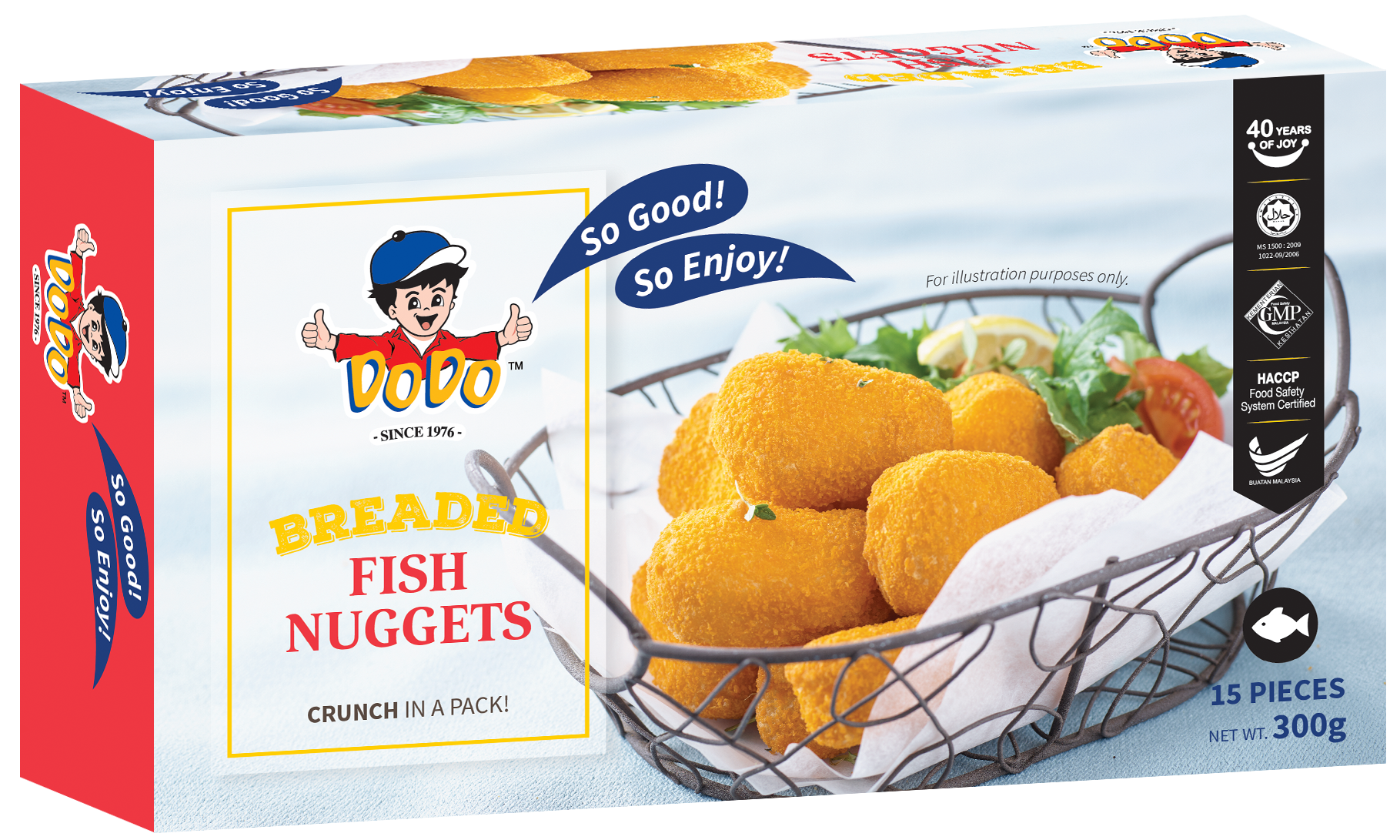 Breaded Fish Nuggets 300gm