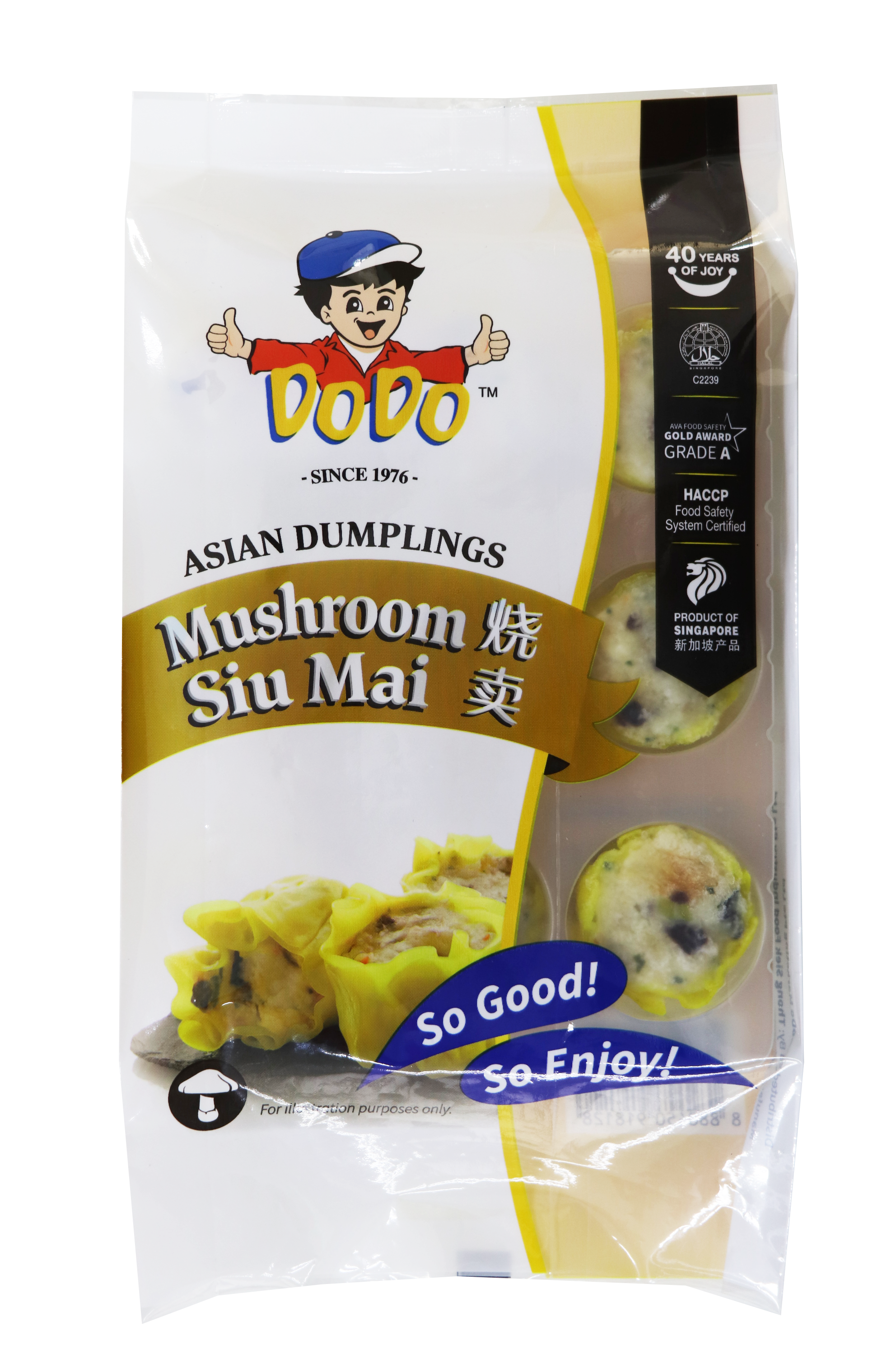 Asian Dumplings Mushroom Siu Mai 180gm